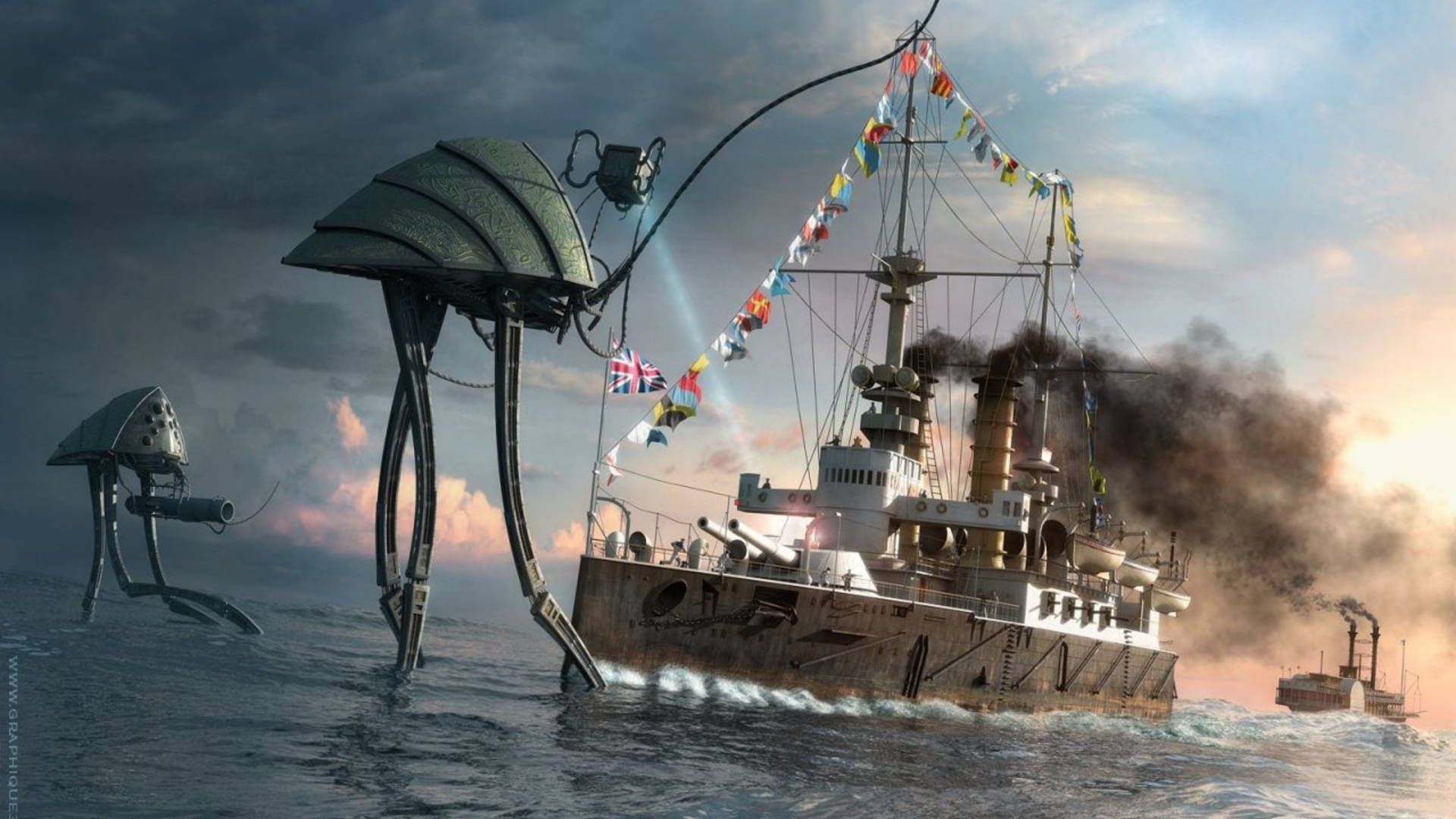 Nice Images Collection: War Of The Worlds Desktop Wallpapers