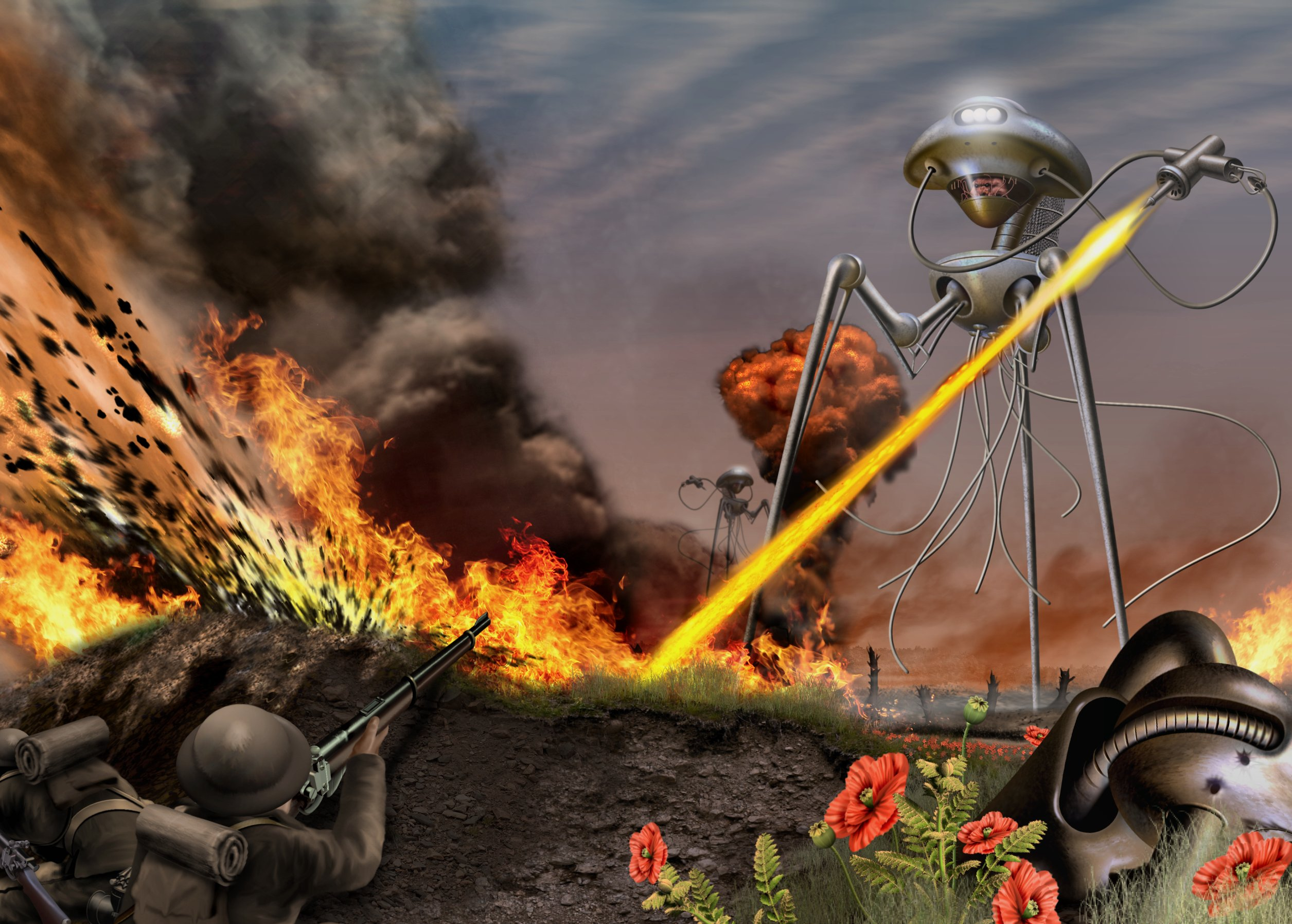 War Of The Worlds High Quality Background on Wallpapers Vista