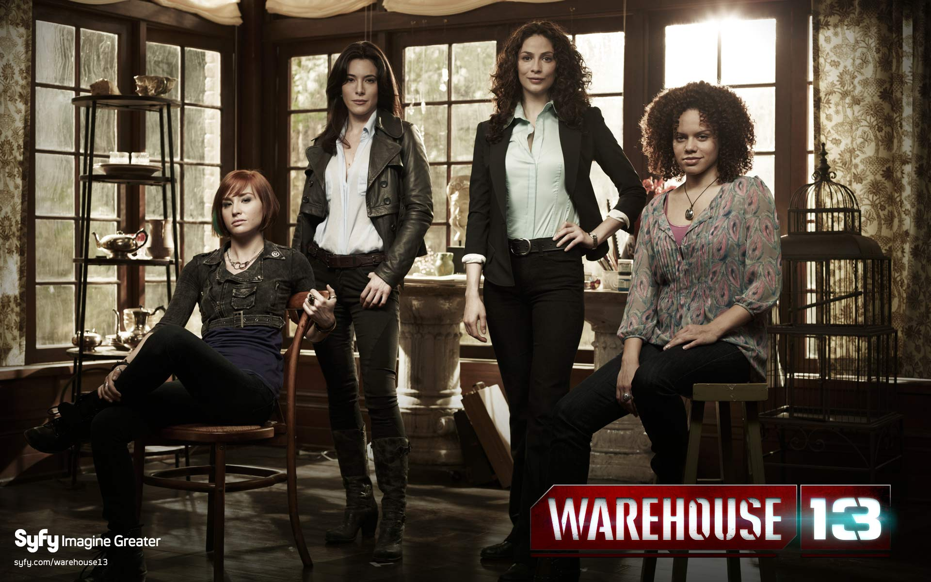HQ Warehouse 13 Wallpapers | File 256.2Kb