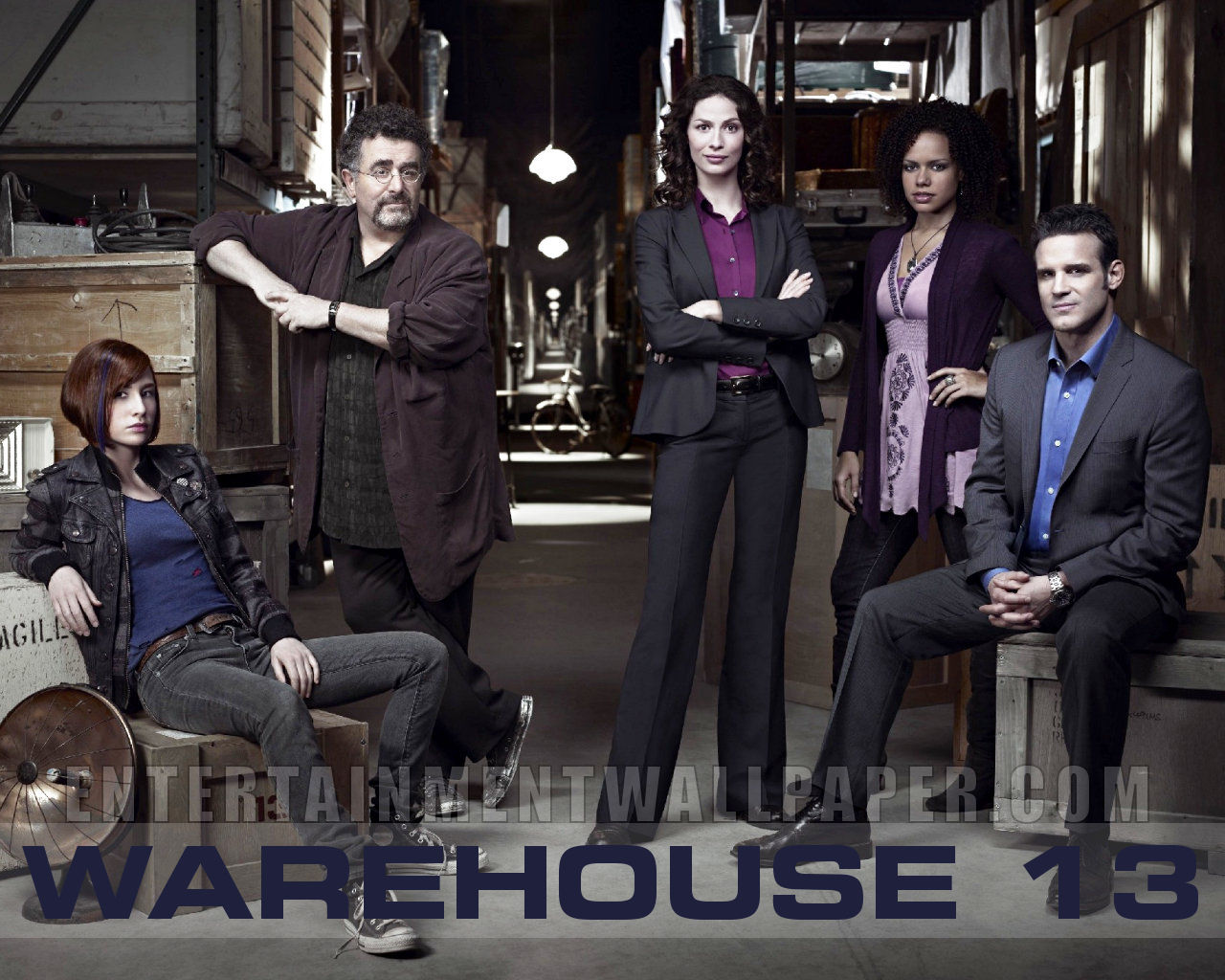 Nice Images Collection: Warehouse 13 Desktop Wallpapers