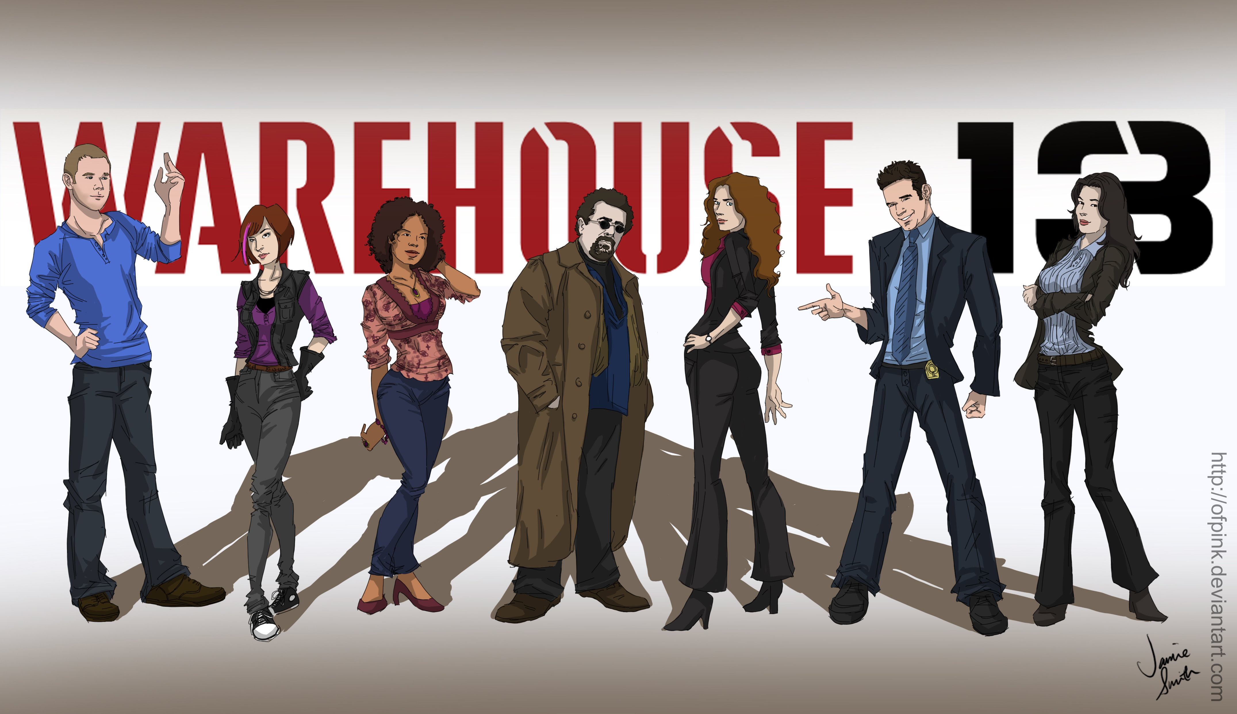 HQ Warehouse 13 Wallpapers | File 2382.61Kb