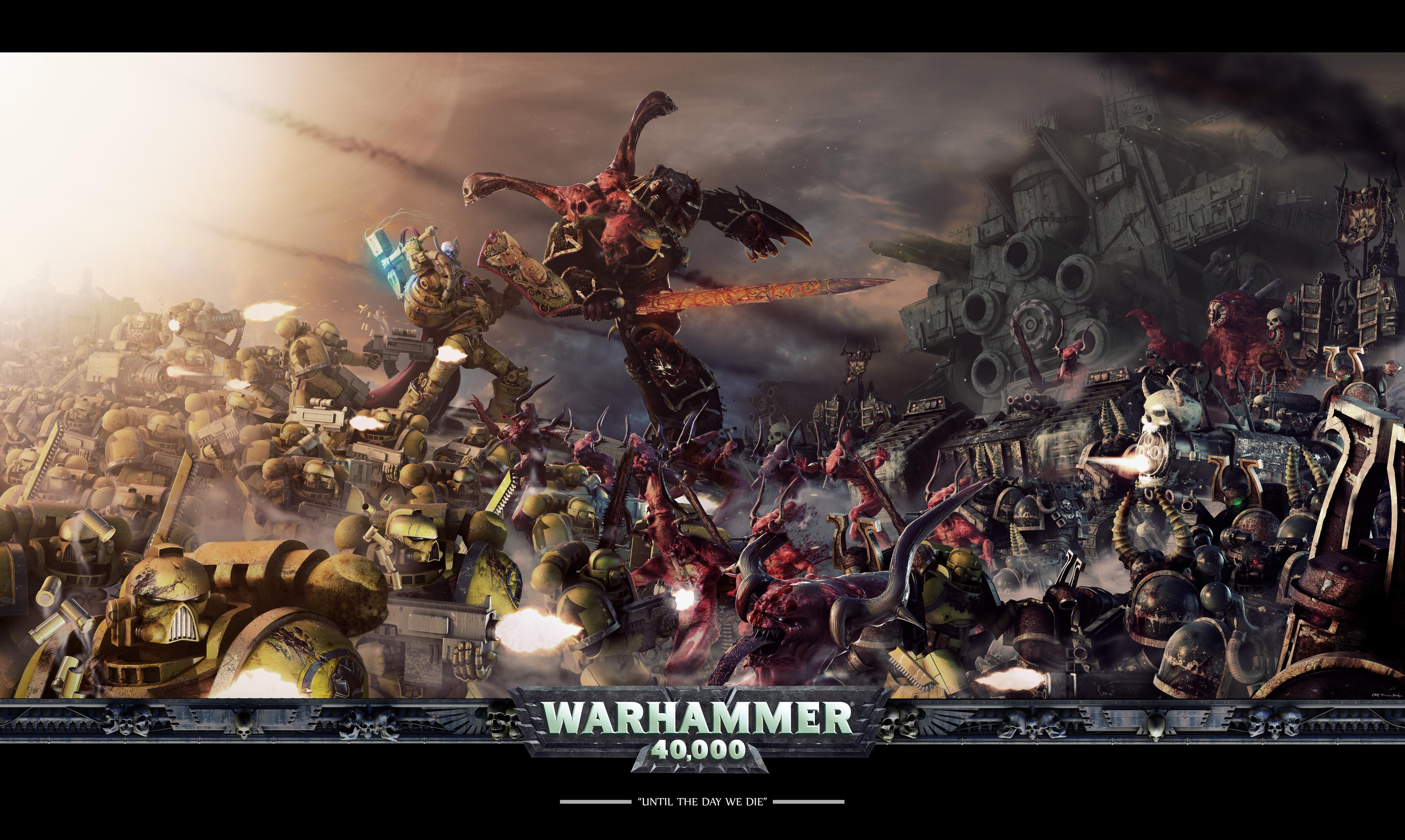 Nice Images Collection: Warhammer 40K Desktop Wallpapers