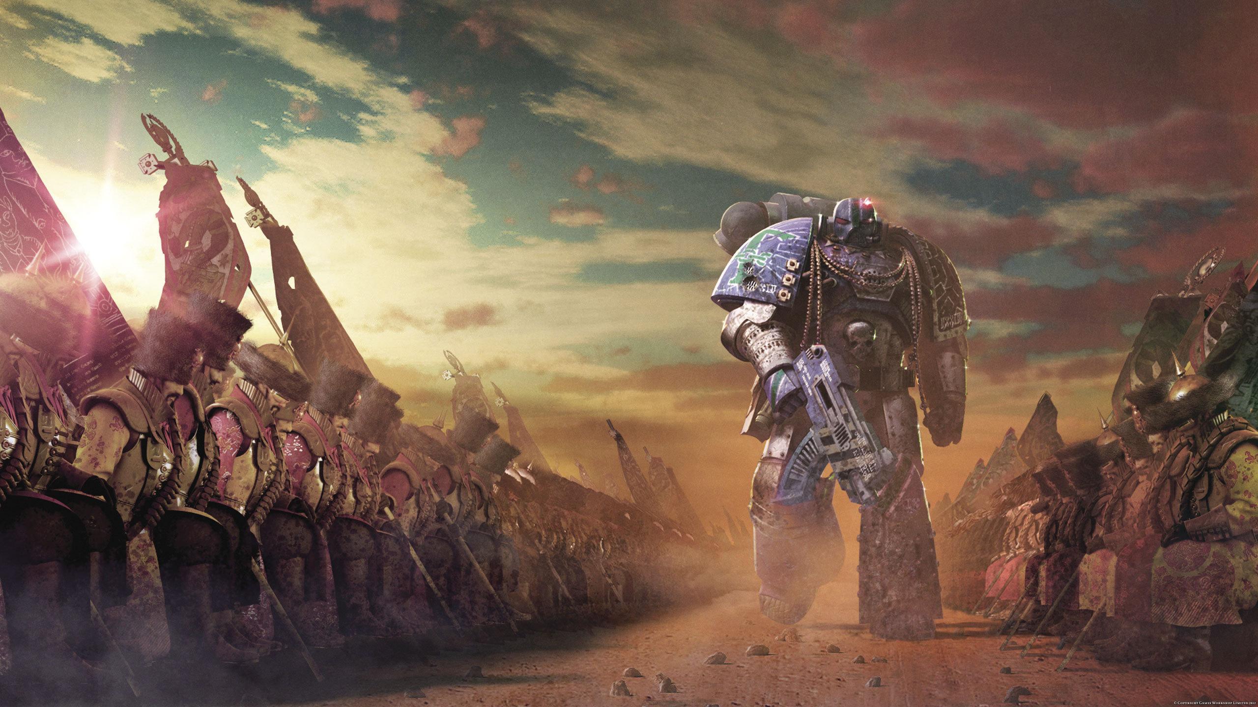 HQ Warhammer 40K Wallpapers | File 695.77Kb