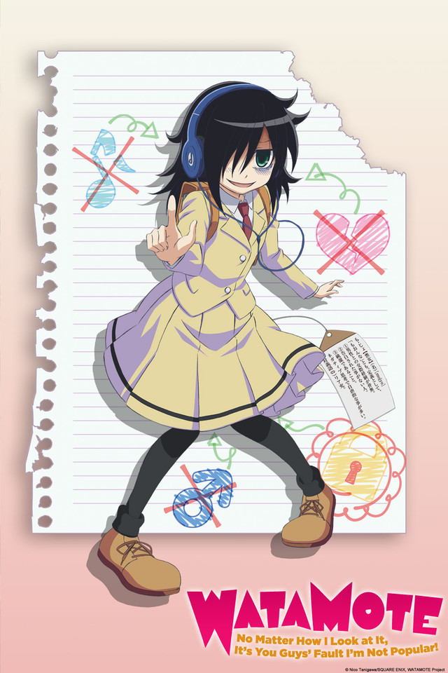Watamote Pics, Anime Collection