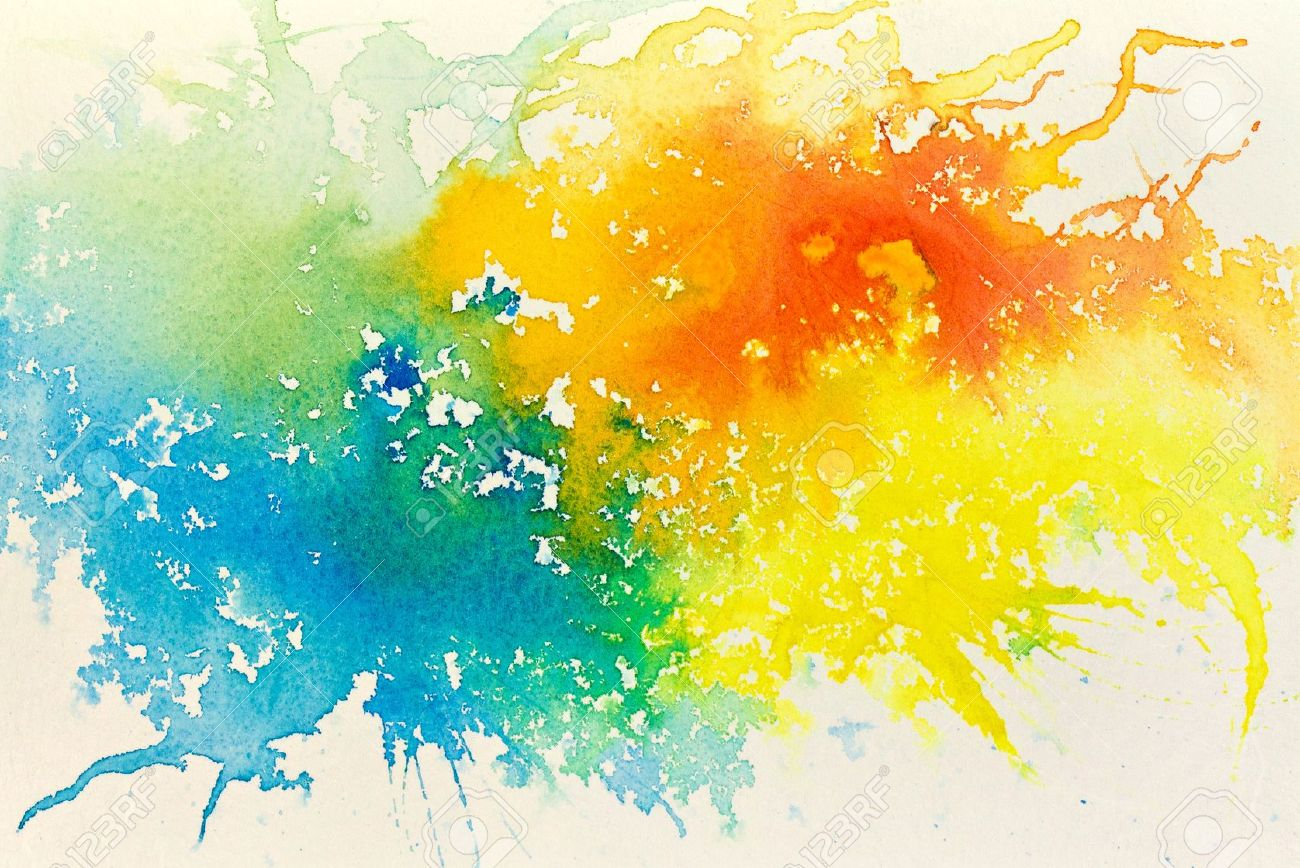 Nice Images Collection: Watercolor Desktop Wallpapers