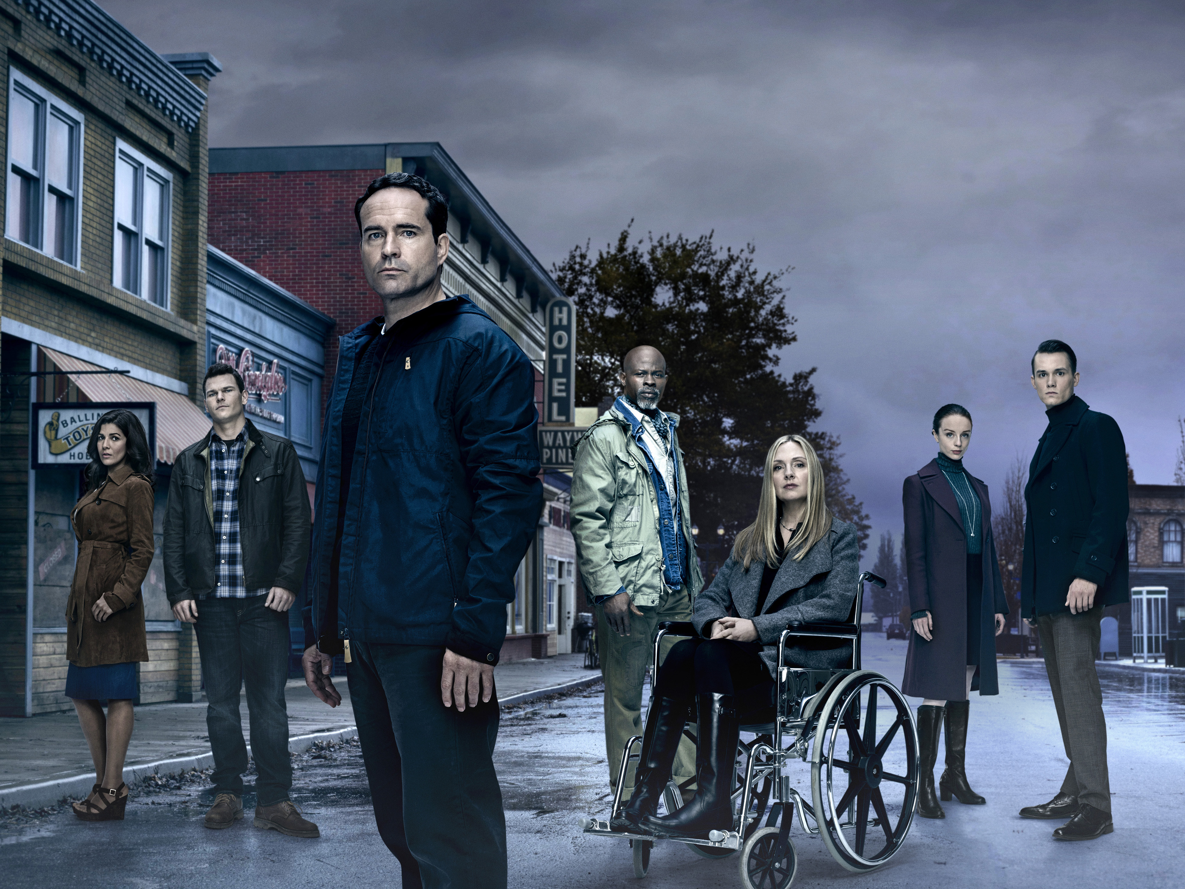 HD Quality Wallpaper | Collection: TV Show, 3900x2927 Wayward Pines