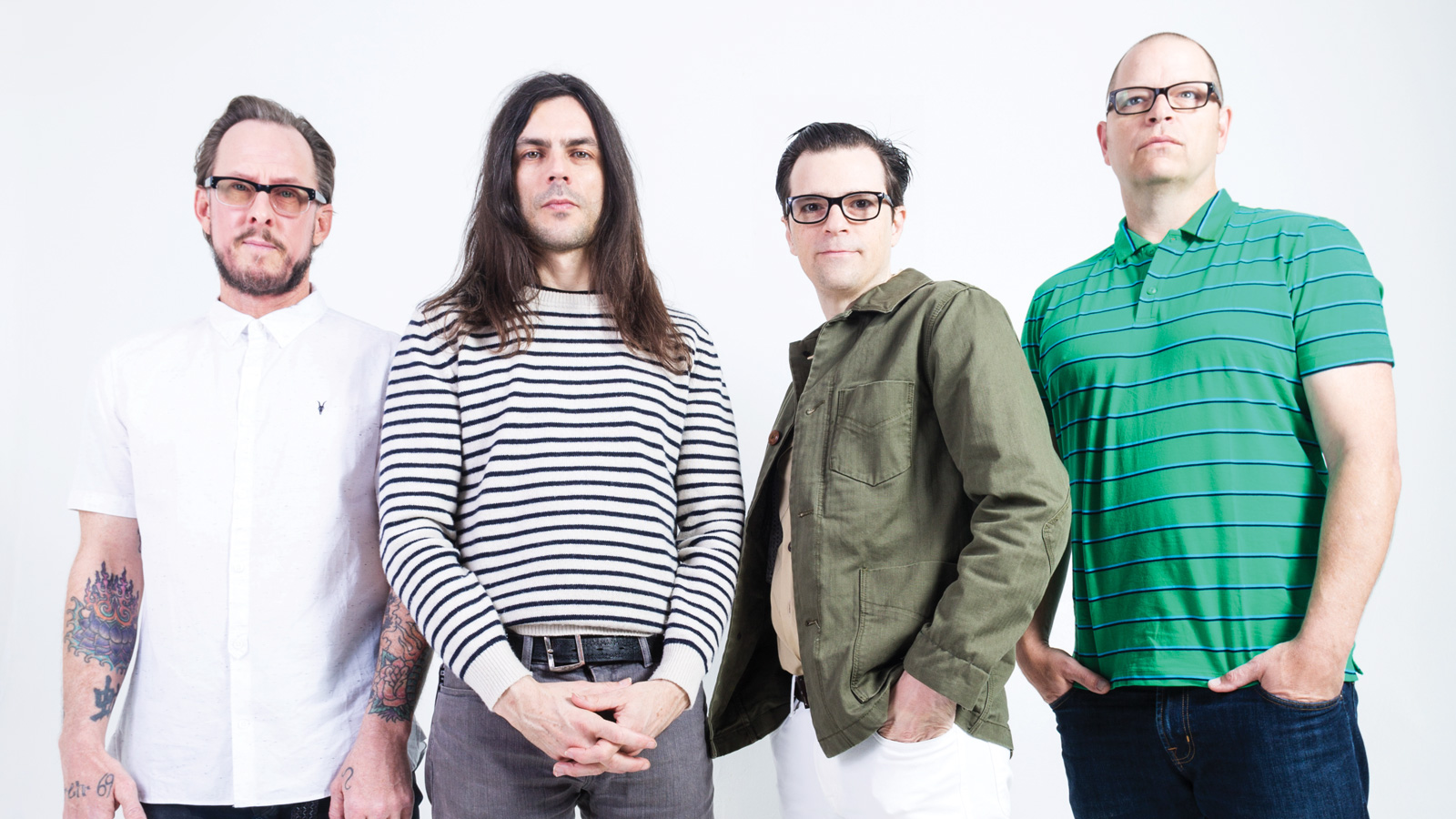 HD Quality Wallpaper | Collection: Music, 1600x900 Weezer