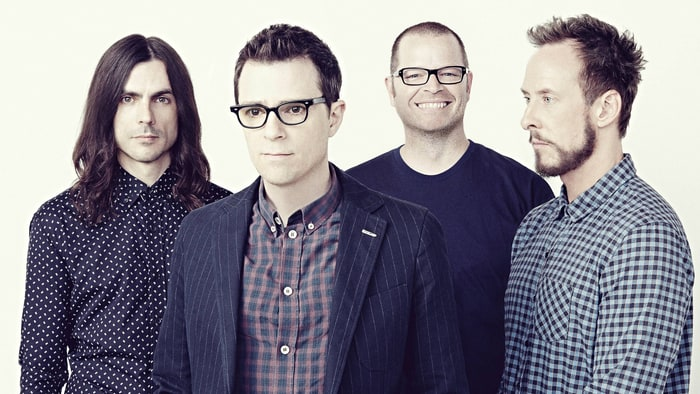 HD Quality Wallpaper | Collection: Music, 700x394 Weezer