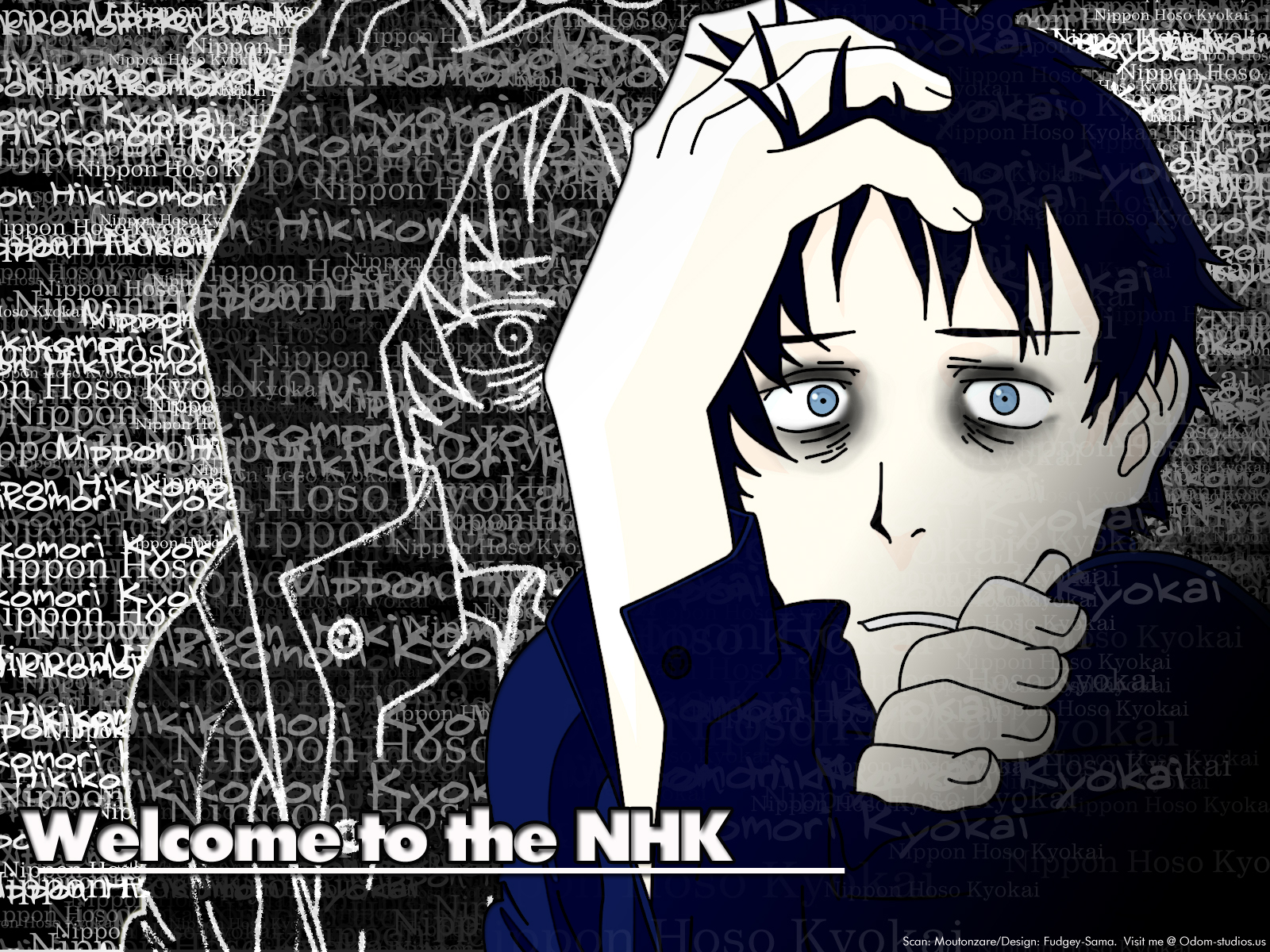 Welcome To The N.H.K. Backgrounds, Compatible - PC, Mobile, Gadgets| 1600x1200 px