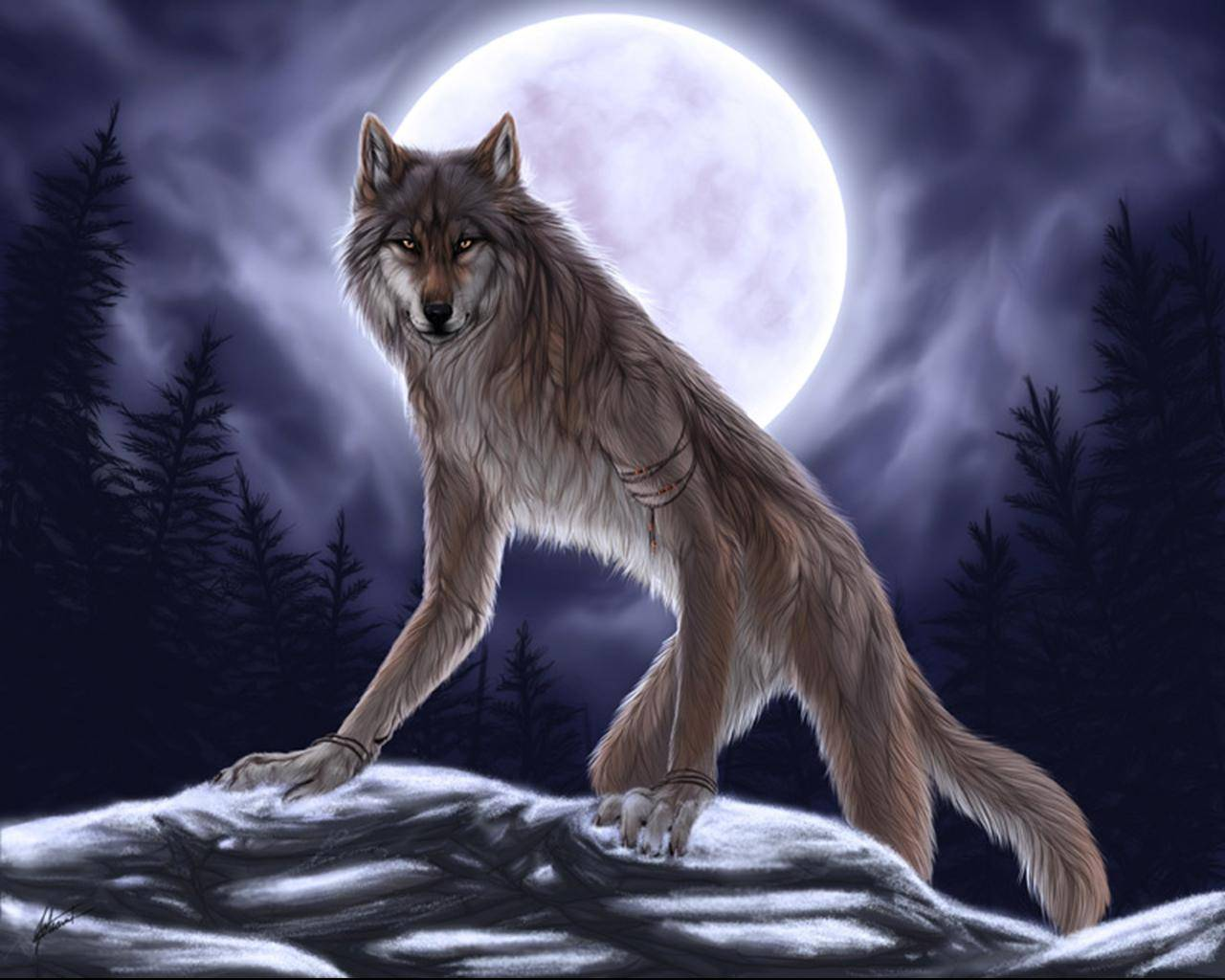 Werewolf High Quality Background on Wallpapers Vista
