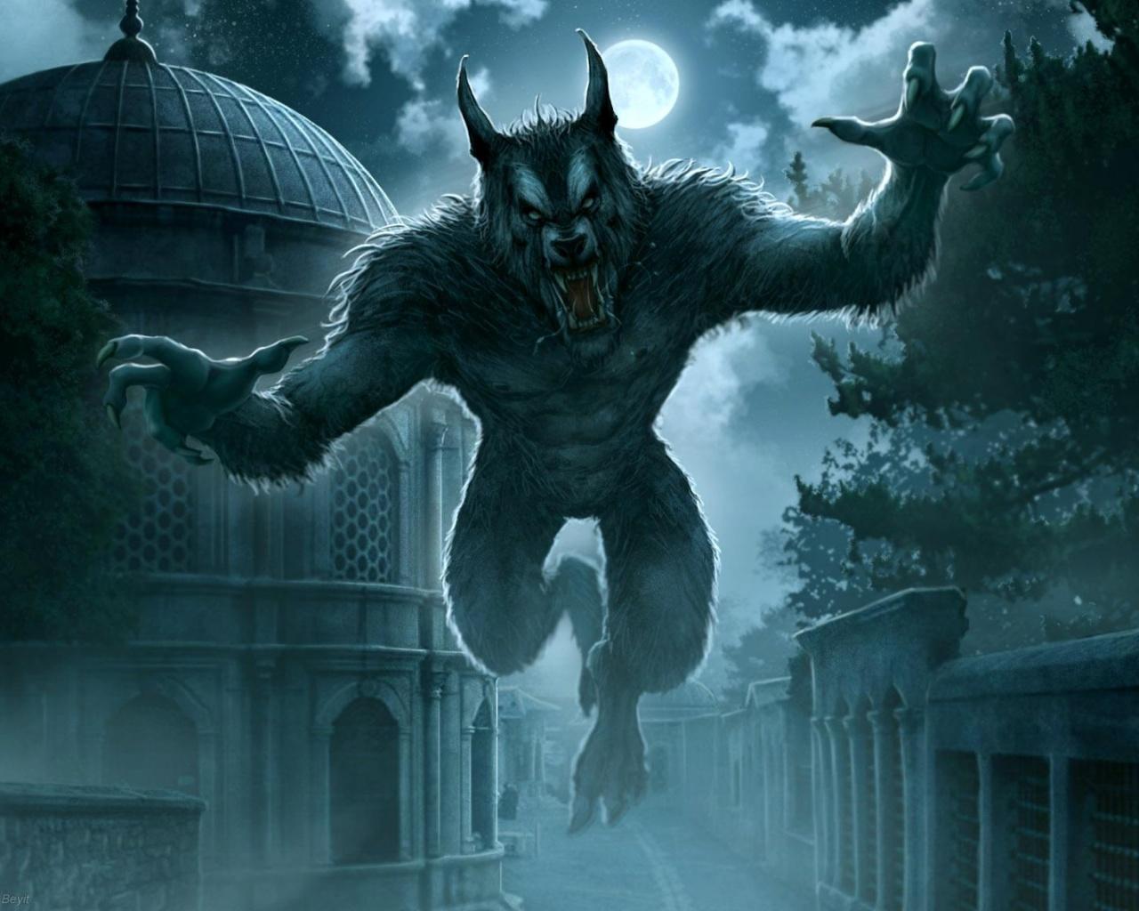 High Resolution Wallpaper | Werewolf 1280x1024 px