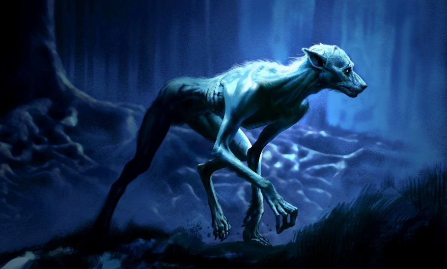 Nice wallpapers Werewolf 910x548px