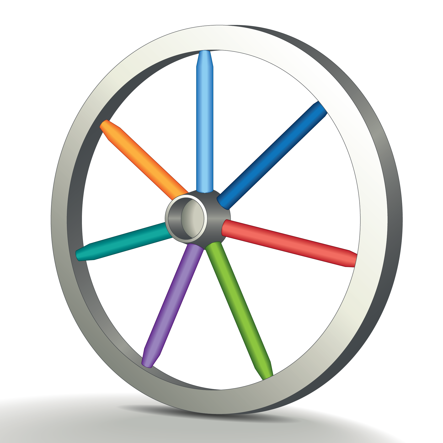 Nice wallpapers Wheel 1855x1855px