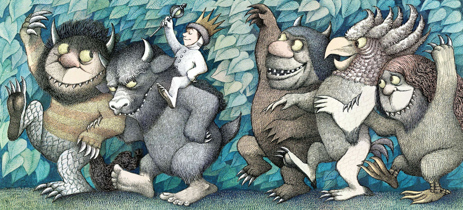 High Resolution Wallpaper | Where The Wild Things Are 1598x728 px