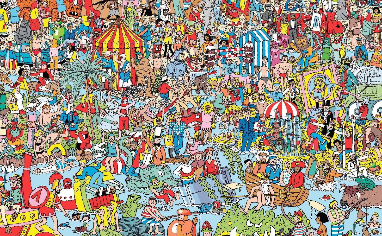 Nice Images Collection: Wheres Waldo? Desktop Wallpapers
