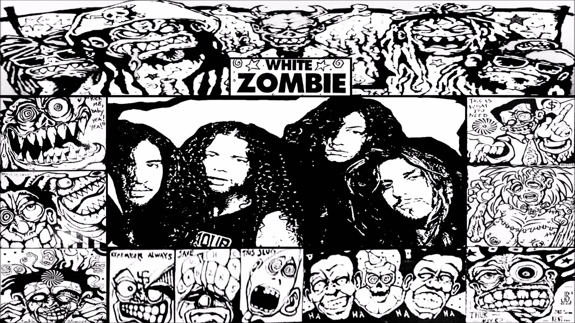 1920x1080 > White Zombie Wallpapers