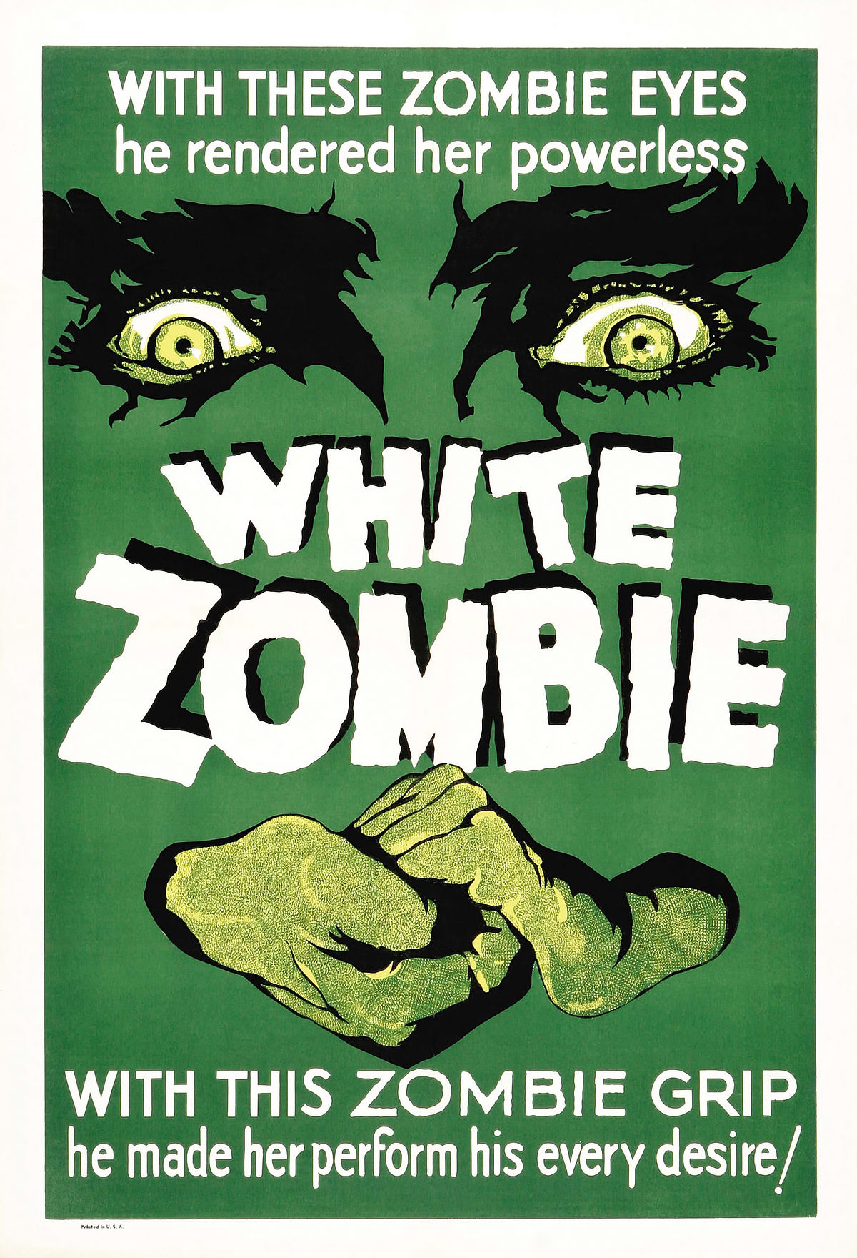 HQ White Zombie Wallpapers | File 429.16Kb