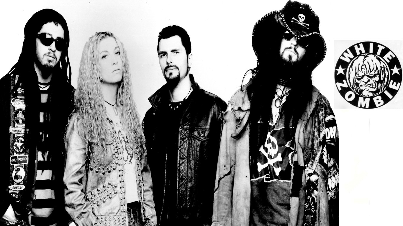 1366x768 > White Zombie Wallpapers