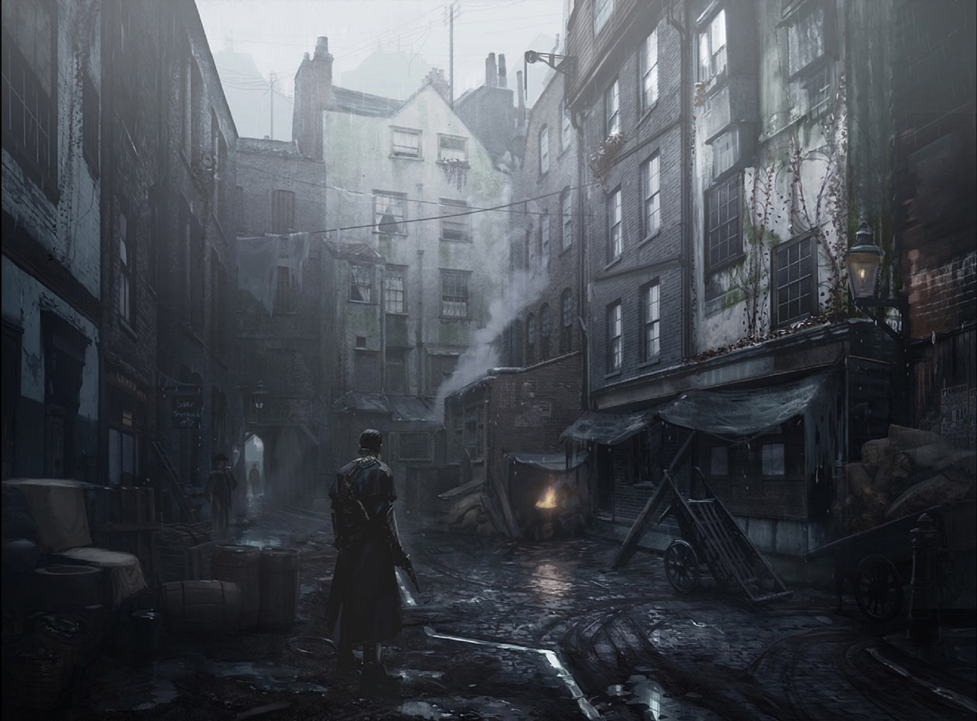 Nice wallpapers Whitechapel Gods 1920x1417px