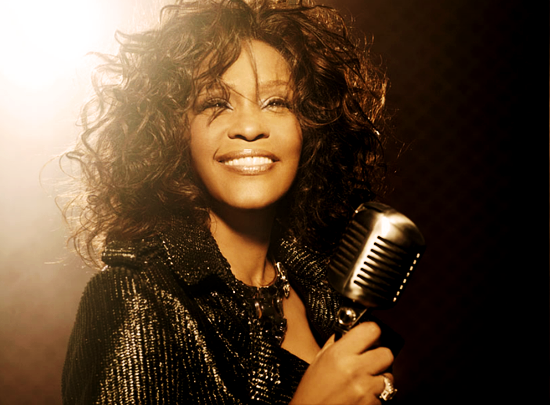 HD Quality Wallpaper | Collection: Music, 550x405 Whitney Houston