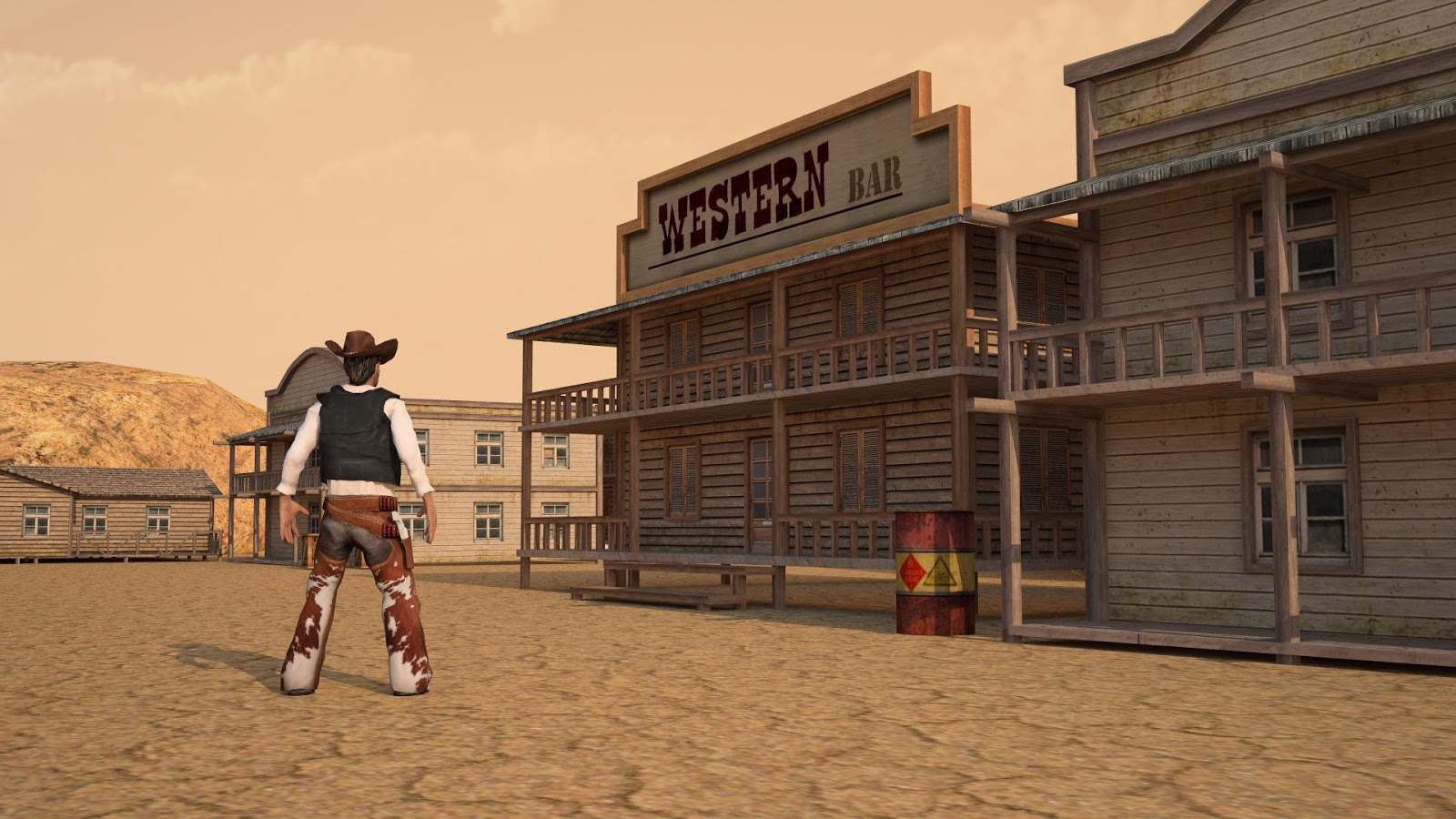 Nice wallpapers Wild West 1600x900px