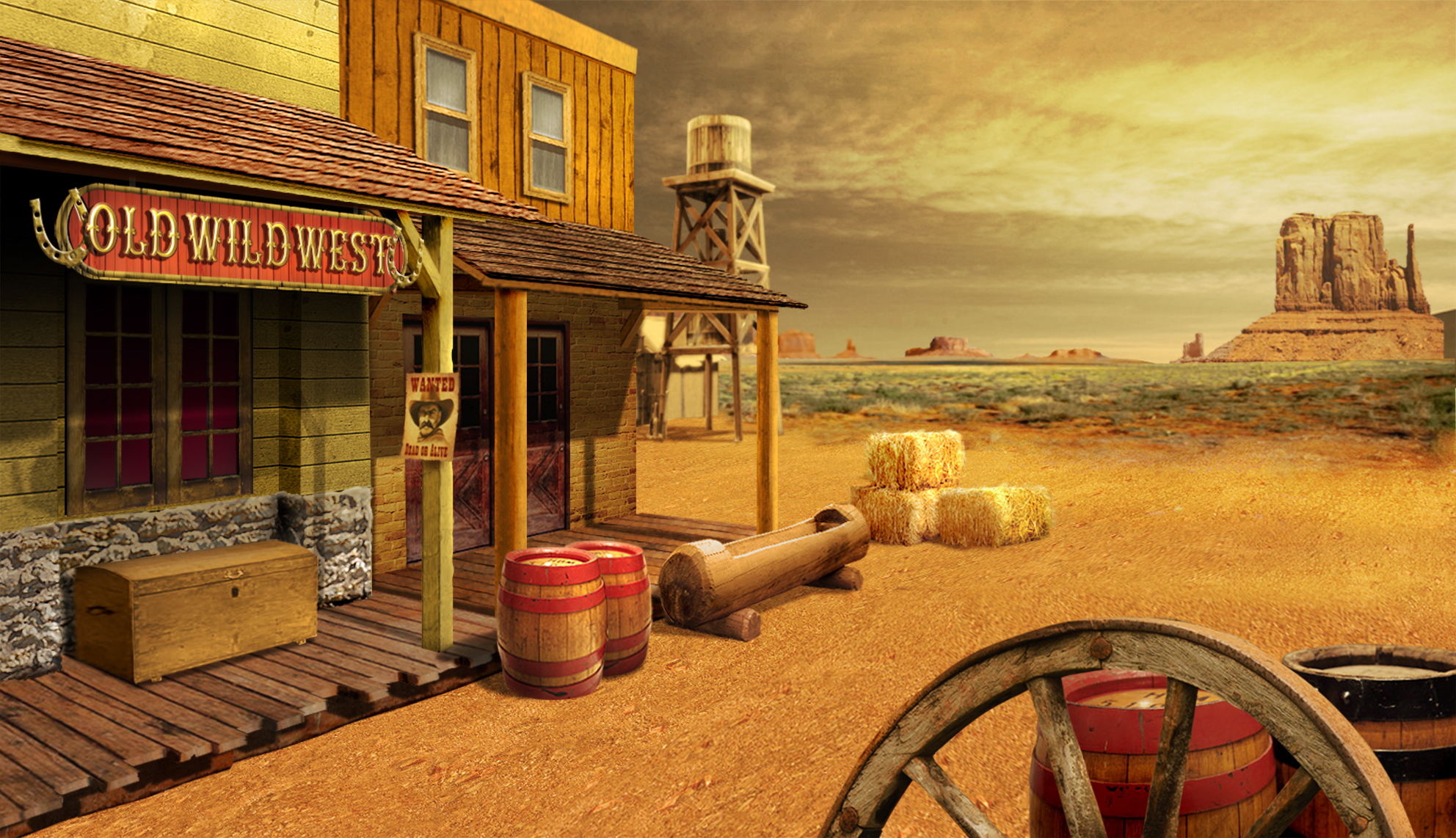 Wild West Backgrounds, Compatible - PC, Mobile, Gadgets| 1984x1142 px