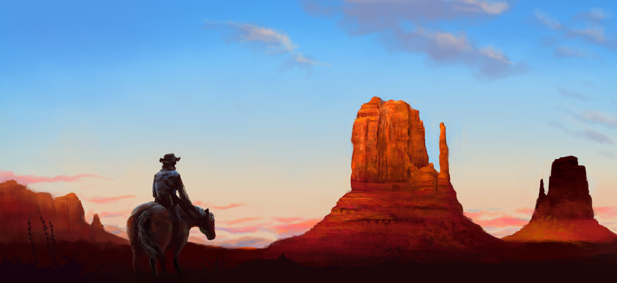 HD Quality Wallpaper | Collection: Artistic, 900x413 Wild West
