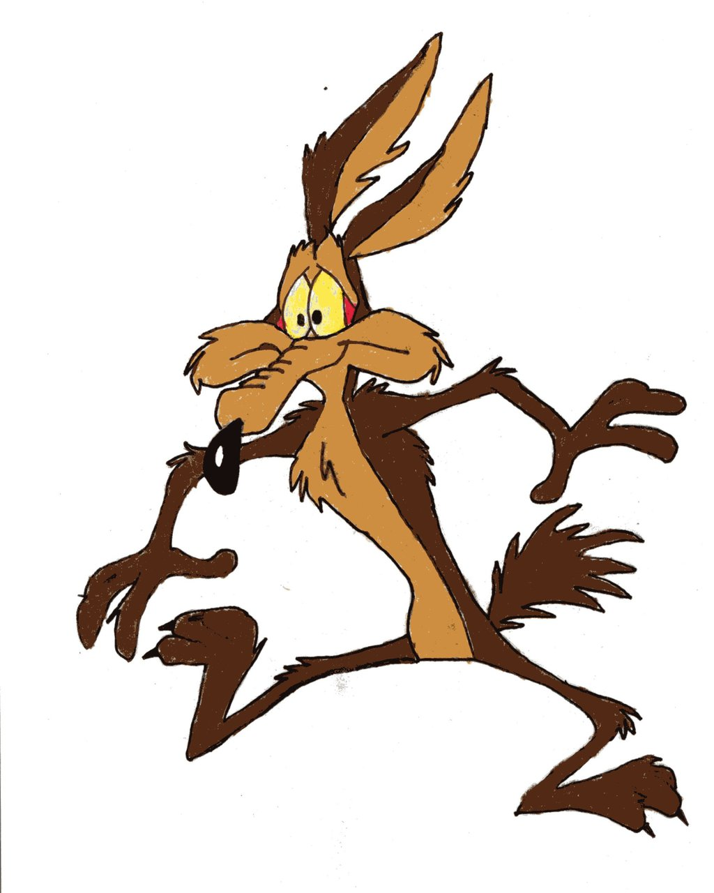 1024x1280 > Wile E Coyote Wallpapers