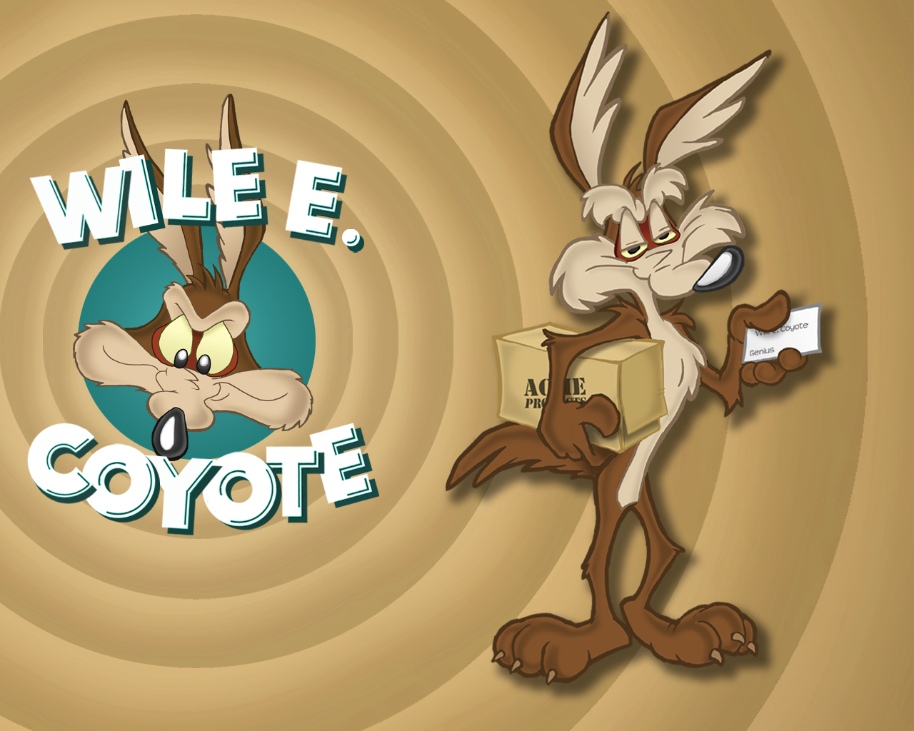 Wile E Coyote Backgrounds, Compatible - PC, Mobile, Gadgets| 1280x1024 px