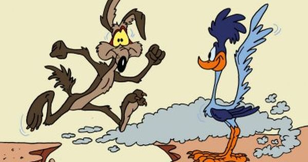 High Resolution Wallpaper | Wile E. Coyote And The Road Runner 600x315 px