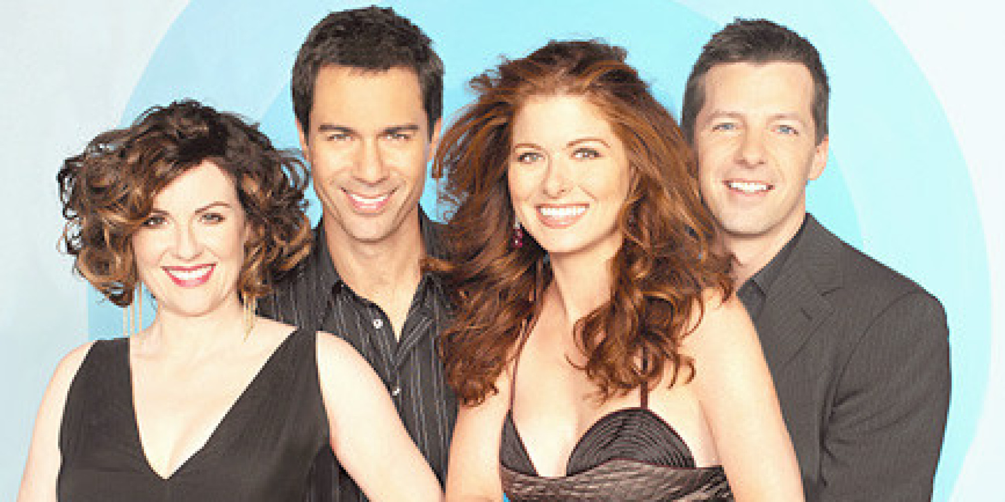 Nice wallpapers Will & Grace 2000x1000px