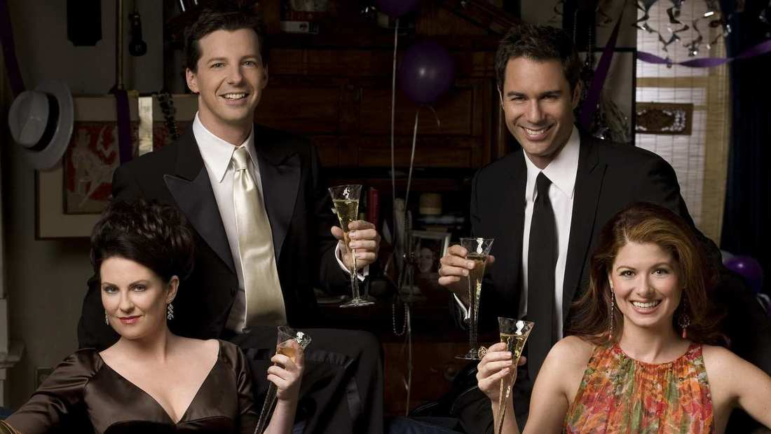 Nice wallpapers Will & Grace 1100x619px