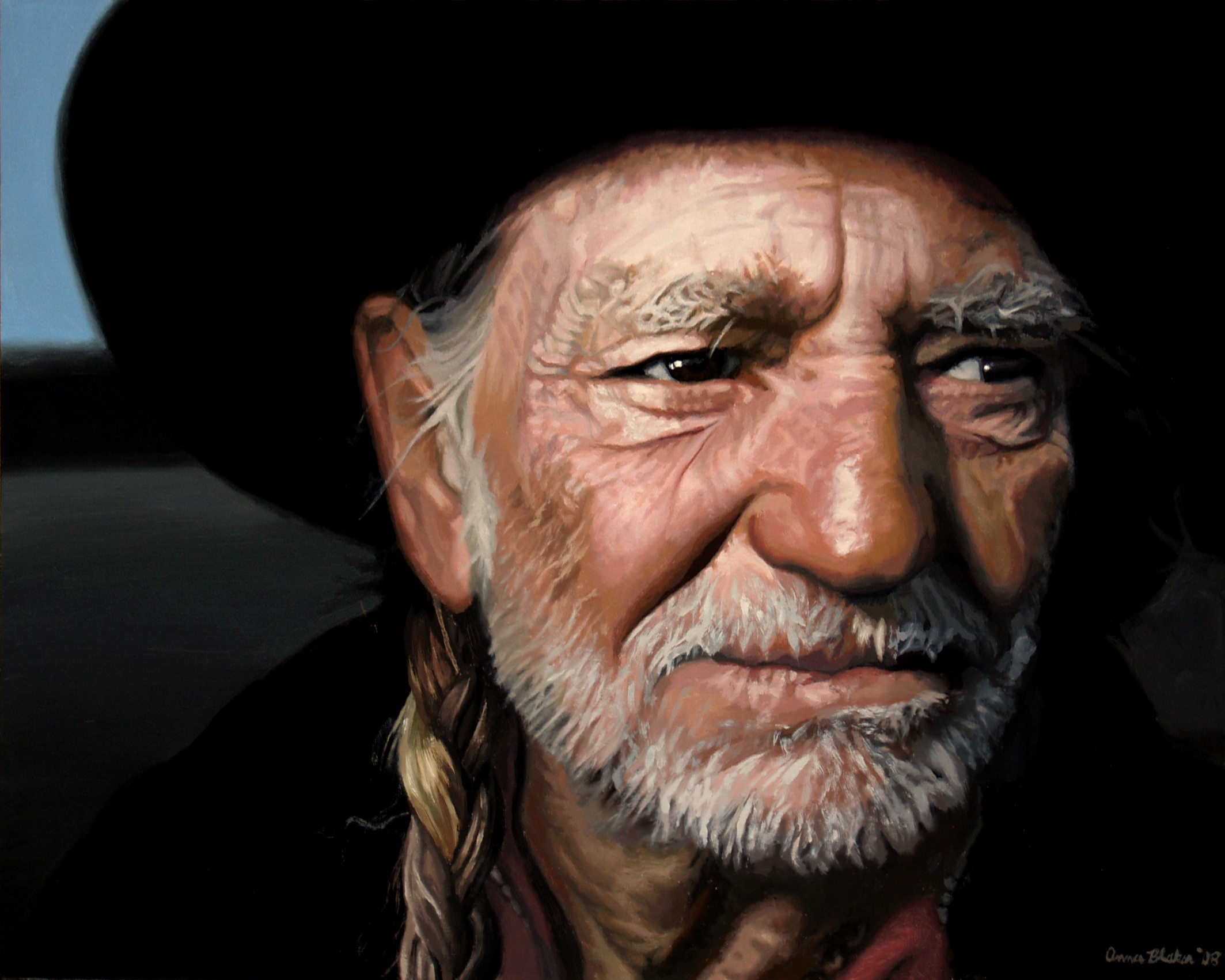 Nice wallpapers Willie Nelson 2127x1702px