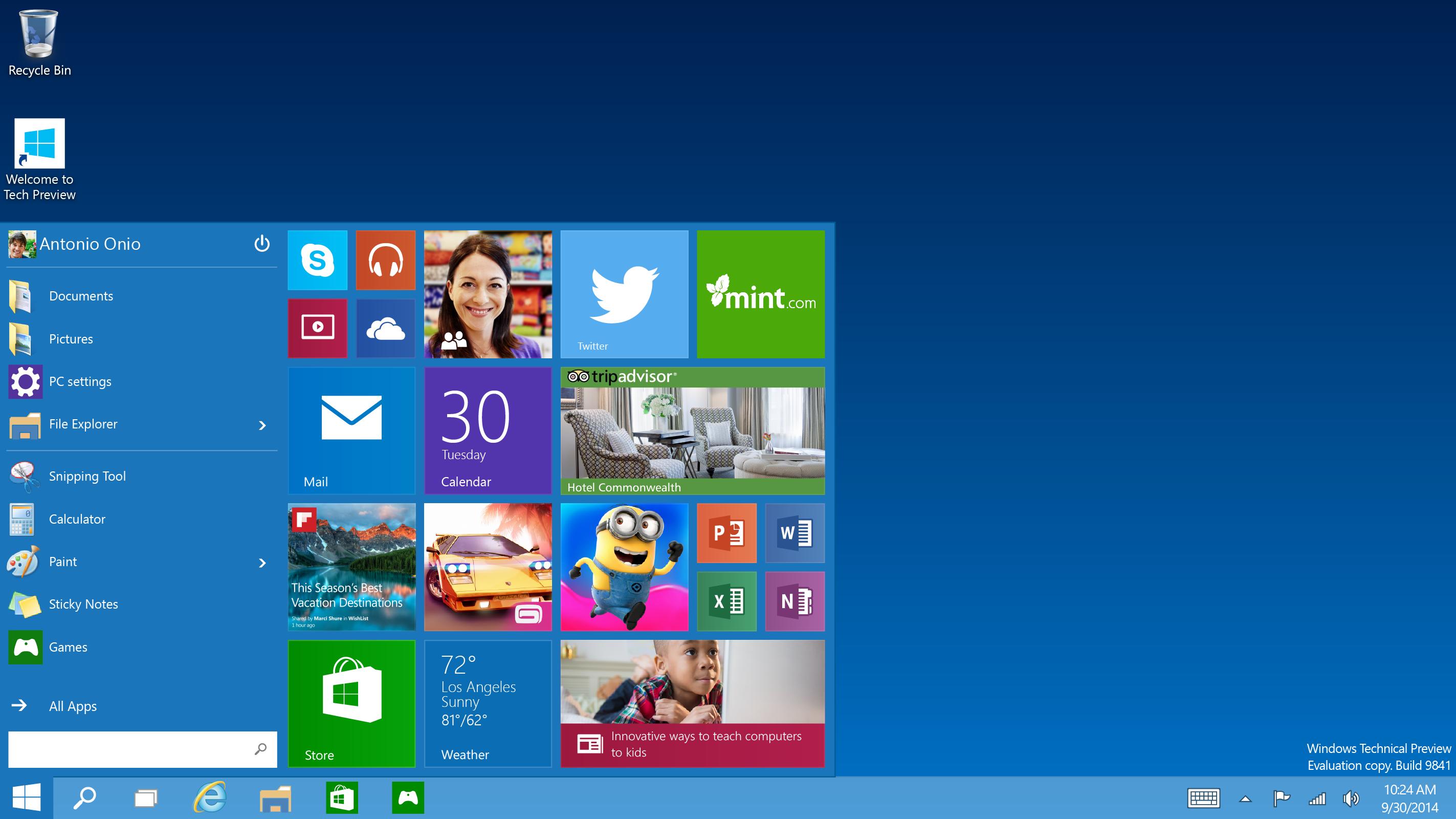 HQ Windows 10 Wallpapers | File 1125.79Kb