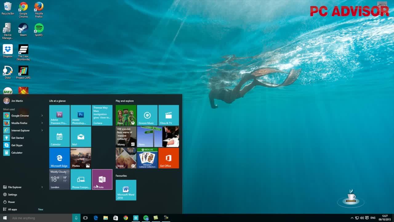 High Resolution Wallpaper | Windows 10 1280x720 px