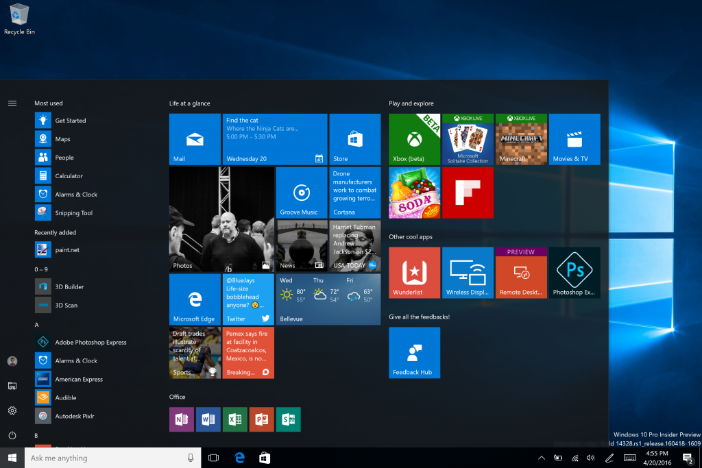 Windows 10 Backgrounds on Wallpapers Vista