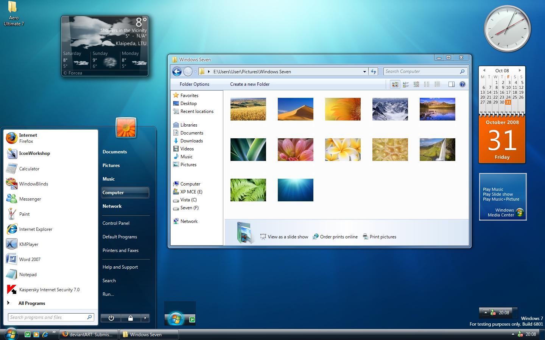 HQ Windows 7 Wallpapers | File 1020.19Kb