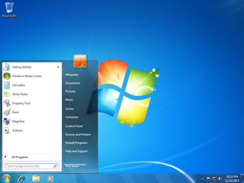 Windows 7 Backgrounds on Wallpapers Vista