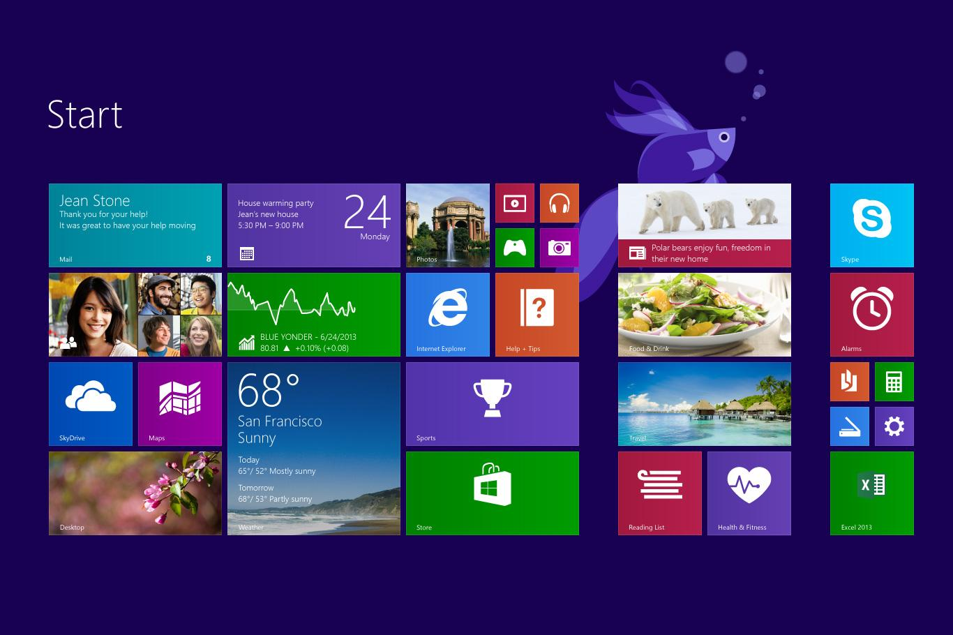 High Resolution Wallpaper | Windows 8 1366x910 px