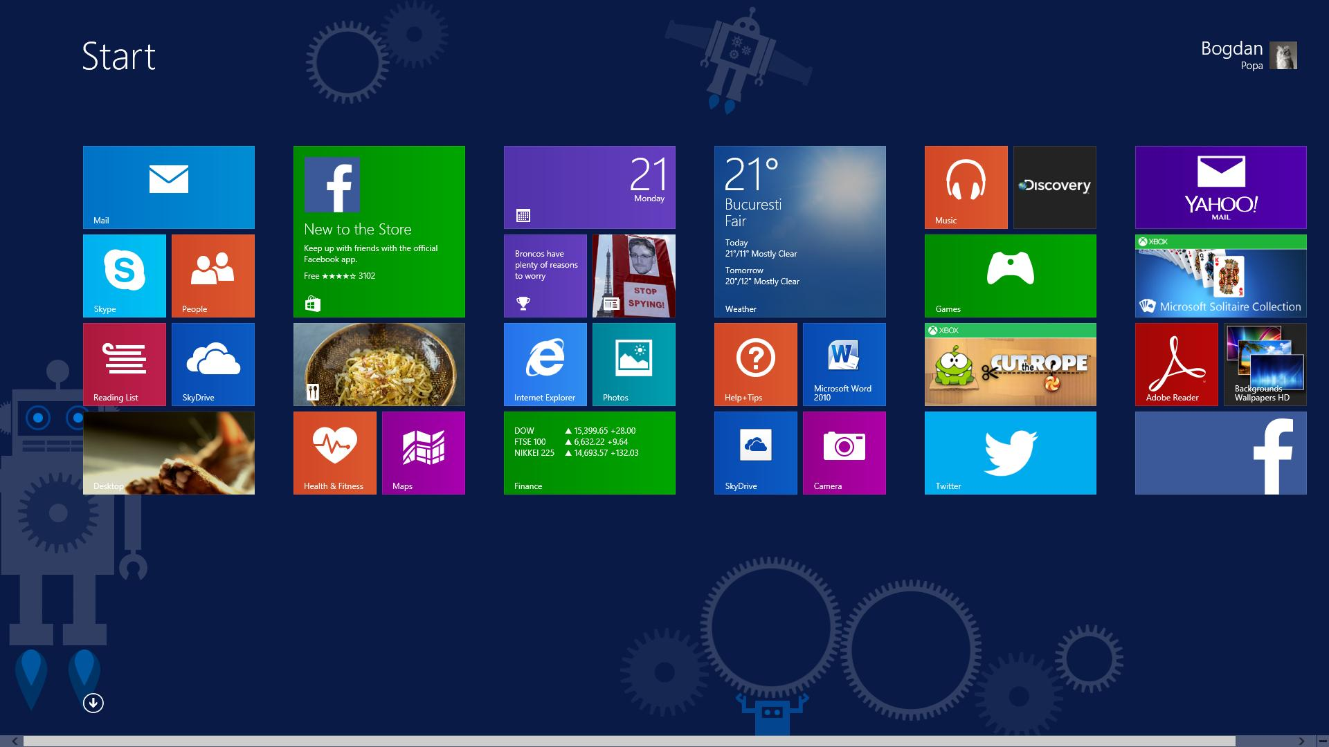 HD Quality Wallpaper | Collection: Technology, 1920x1080 Windows 8