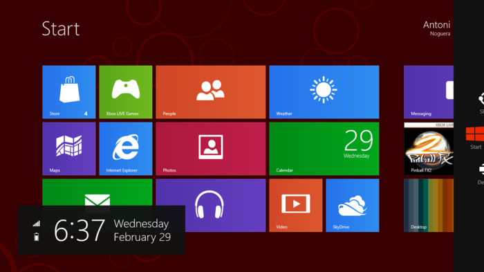 Windows 8 Backgrounds on Wallpapers Vista