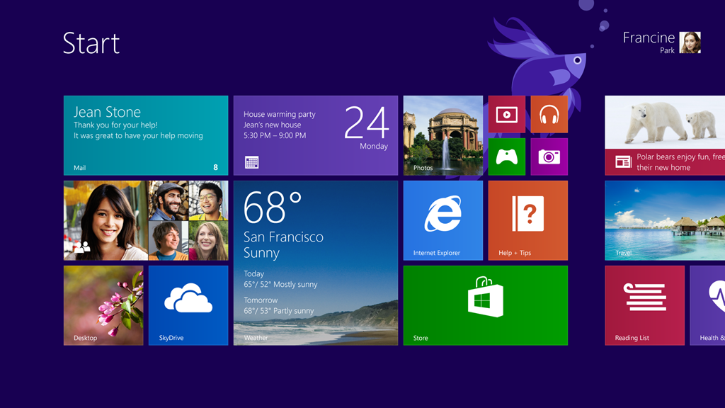 Amazing Windows 8.1 Pictures & Backgrounds