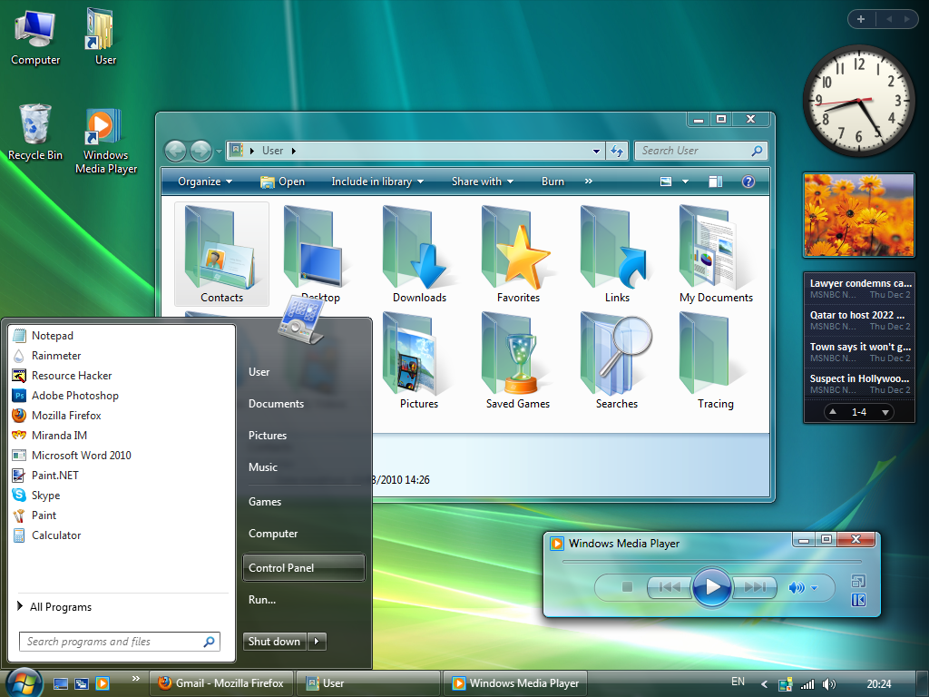 Nice wallpapers Windows Vista 1024x768px