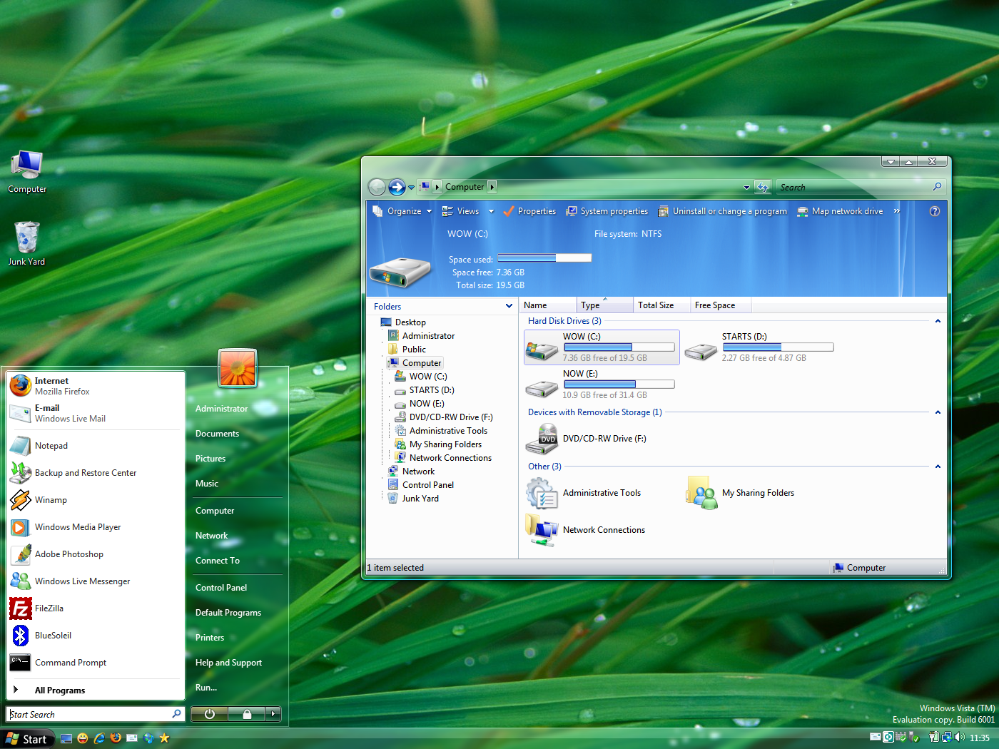 1400x1050 > Windows Vista Wallpapers