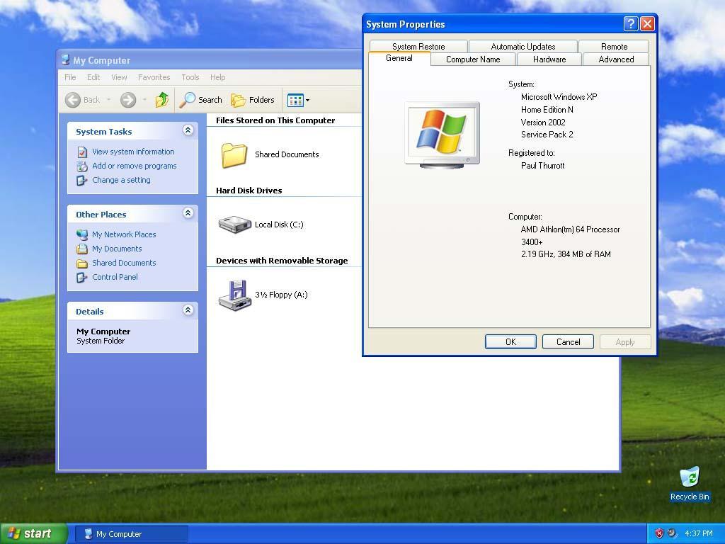 Nice Images Collection: Windows XP Desktop Wallpapers