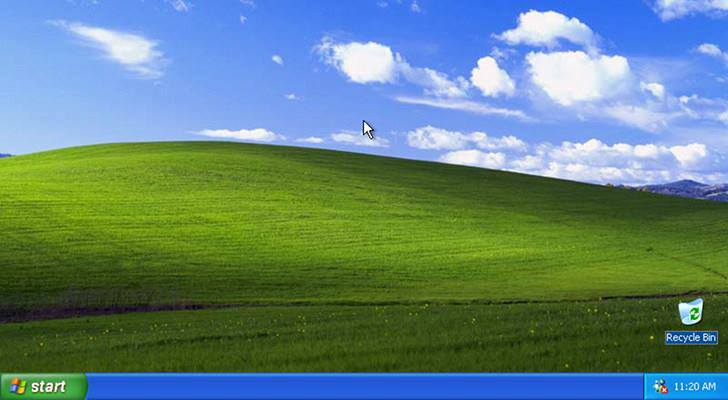 Windows XP Backgrounds on Wallpapers Vista