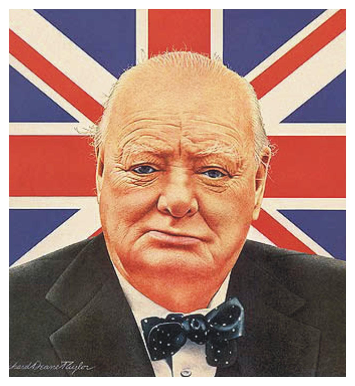 High Resolution Wallpaper | Winston Churchill 1332x1450 px