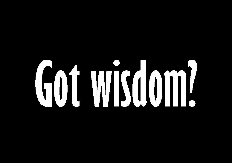 Wisdom #8