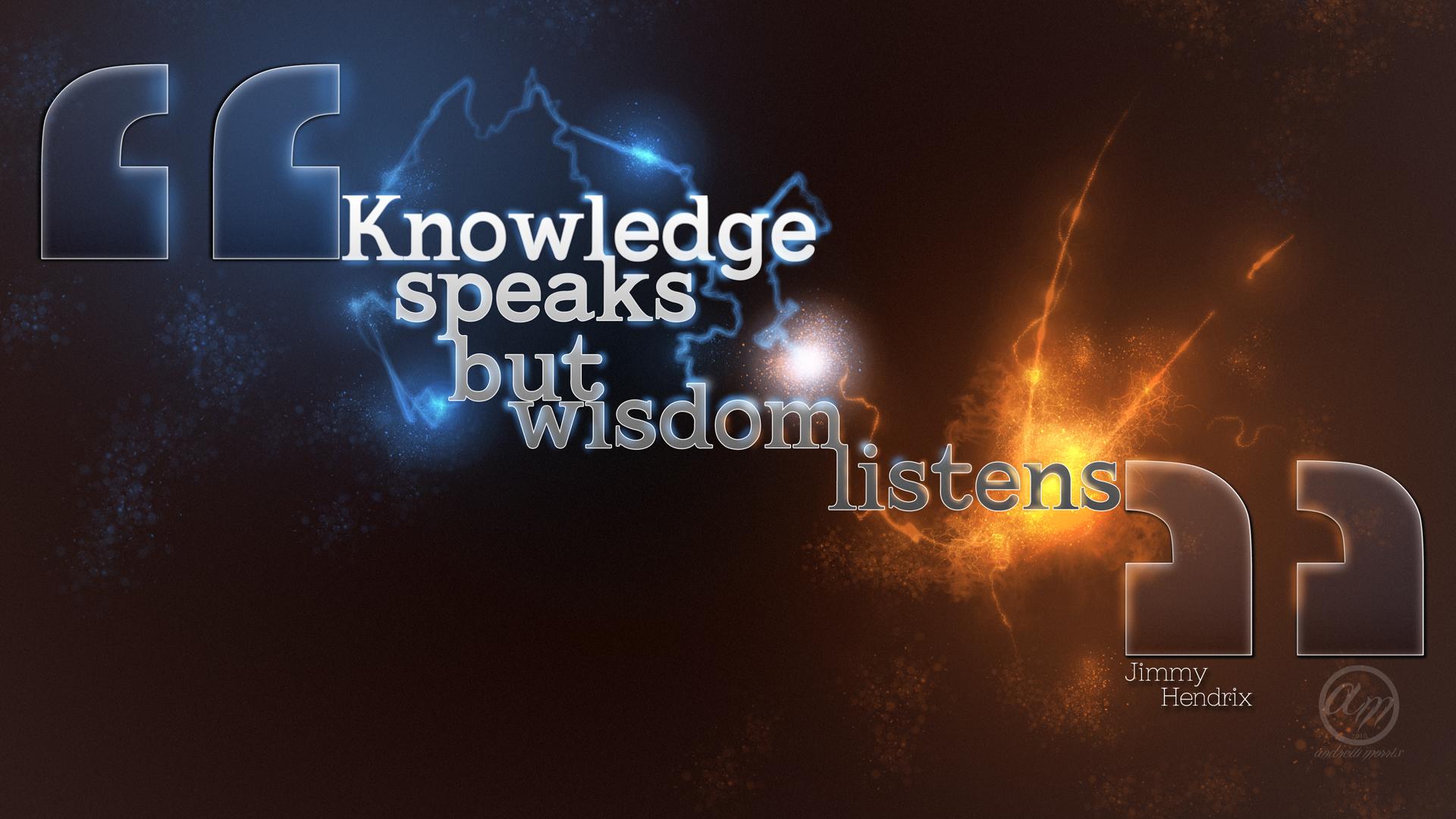 Wisdom #9