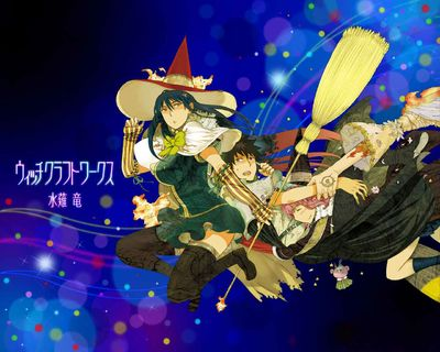 Witch Craft Works Pics, Anime Collection